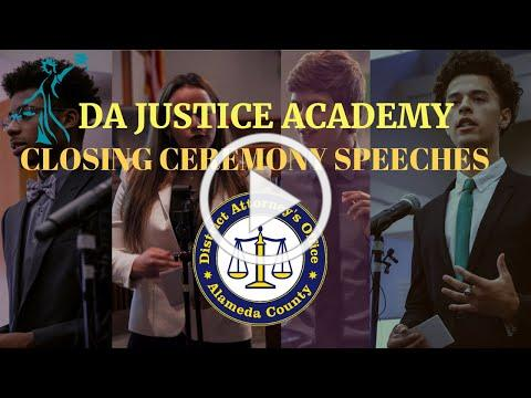 DA Justice Academy (DAJA) Closing Ceremony Speeches 2019