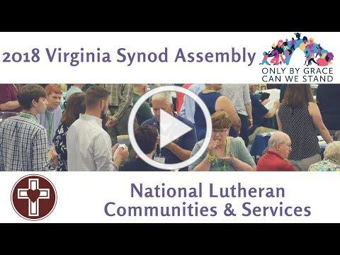 Virginia Synod Assembly 2018 Updates-National Lutheran Communities & Services