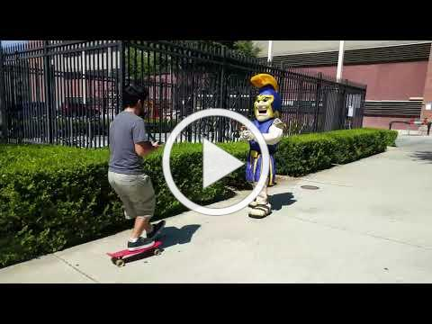 SJSU - Sammy's Safety Tips: Biking & Skateboarding on Campus