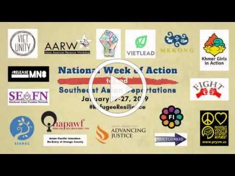 National Week of Action to End Southeast Asian Deportations