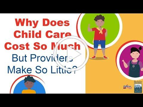 Why Does Child Care Cost So Much Yet Providers Make So Little? | Child Care Aware of America