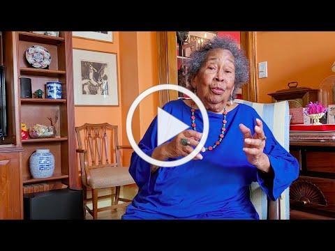 June Jackson Christmas speaks about Dorothy Boulding Ferebee