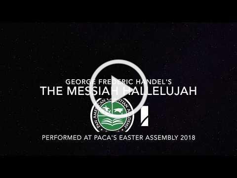 PACA Easter 2018 Handel's Messiah Hallelujah