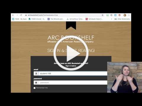 How to Access the ARC Bookshelf (Student and Family Tutorial)