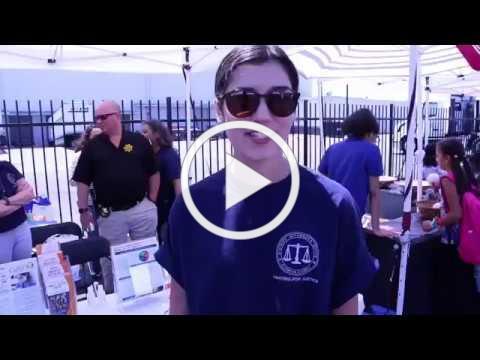 ALCO DA at the Davis St. Health Fair in San Leandro