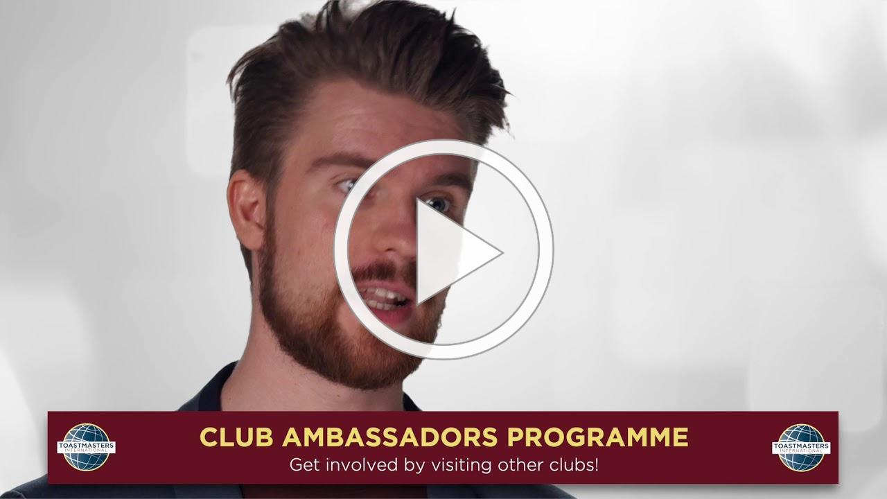 Club Ambassdor Programme by Ellis Bryne