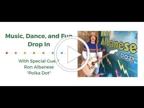 "Ron Albanese ""Polka Dot"" Drop In"