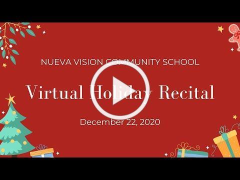Virtual Holiday Recital 2020 [PART I]