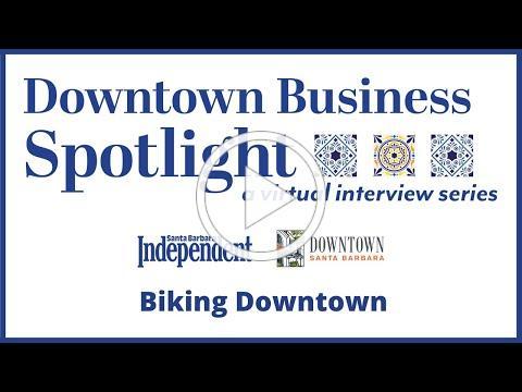 Downtown Business Spotlight - Biking Downtown