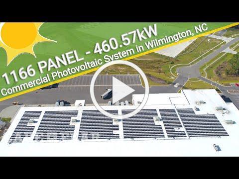 Coastal Beverage Company | Commercial Solar Power System - Wilmington, NC