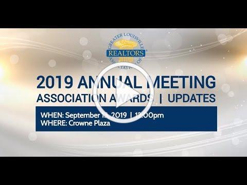 2019 GLAR Annual Meeting & Installation Luncheon