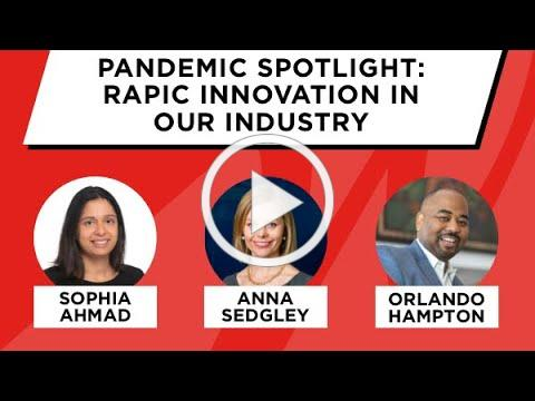 Pandemic Spotlight: Rapid Innovation in our Industry - WICT Greater Philadelphia