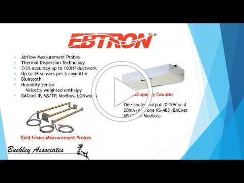 Maintain Healthy Indoor Air Quality with Greenheck and Ebtron Solutions from Buckley