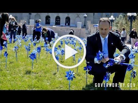 Pinwheel Planting 2018: Prevent Child Abuse Kentucky