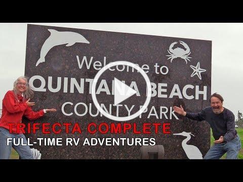 Quintana Beach County Park | RV Camping at the Coast | RV Texas Y'all