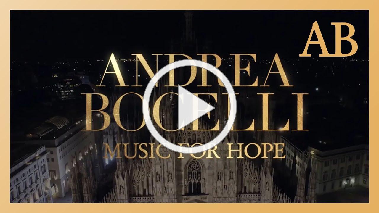 Music For Hope LIVE - April 12th 10am LA | 1pm NYC | 6pm UK | 7pm CET