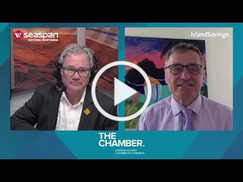 A chat with Saanich Mayor Fred Haynes | Chamber Chats