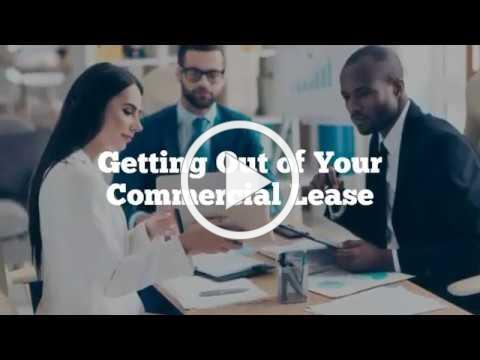 Getting Out of Your Commercial Lease via Big Ideas for Small Business, Inc.