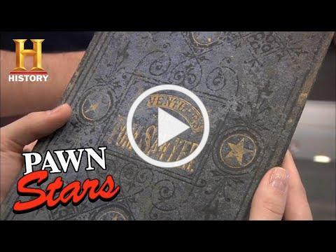 Pawn Stars: VERY RARE 1876 Mark Twain Book is PURE GOLD (Season 8)   History