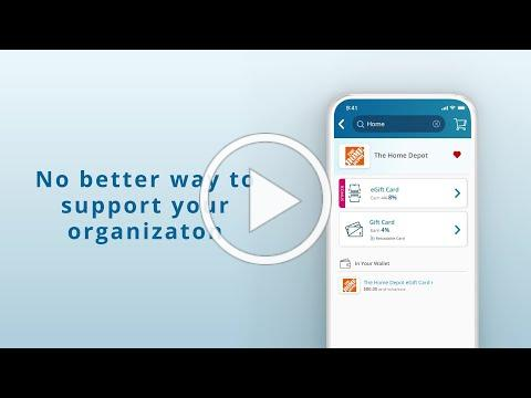RaiseRight by ShopWithScrip: Mobile App Preview
