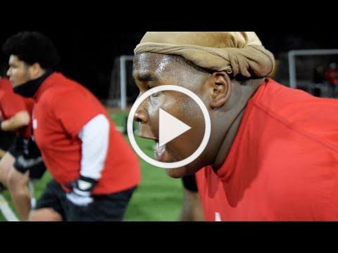 Messiyah Moye from Hayward Football | US Bank Inspirational Athlete