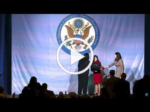Blue Ribbon Award Presentation DC