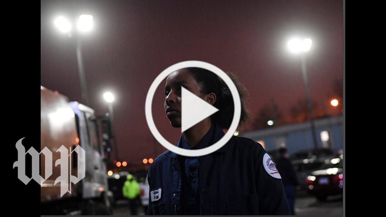 This is what it's like to be a sanitation worker during the coronavirus outbreak