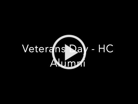 Veteran's Day 2020 - Alumni Excerpt