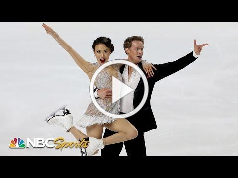Chock and Bates return with a vengeance in record-setting Nationals rhythm dance | NBC Sports