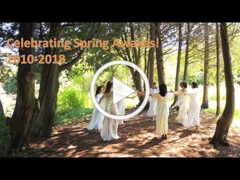 Celebrating Spring Awakes! 2010-2018 - Photo slideshow