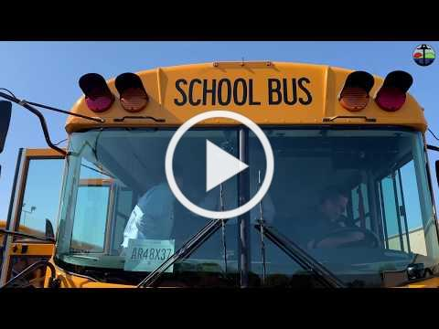 Pittsburg Unified Unveils New Electric Transit Style School Bus