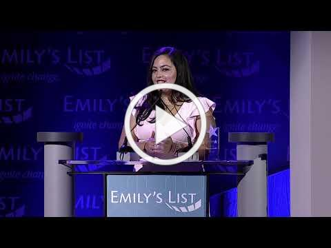 Wendy Carrillo Accepts the 2019 Gabrielle Giffords Rising Star Award
