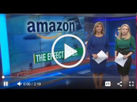 Big news! Amazon to open new HQ in NYC. My interview w/ News 12.