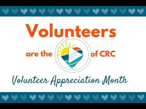 CRC Volunteer Appreciation Video