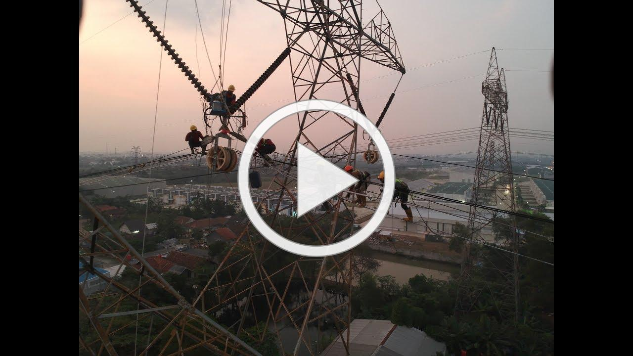 RECONDUCTORING 500 KV HTLS (ACCC) BALARAJA - LENGKONG - GANDUL