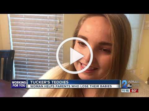 Tucker's Teddies: Woman helps parents who lose their babies