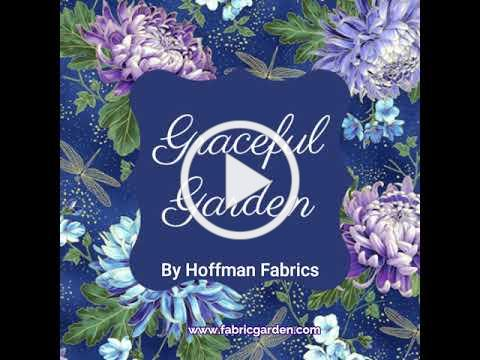 Graceful Garden by Hoffman Fabrics - at The Fabric Garden in Madison, Maine