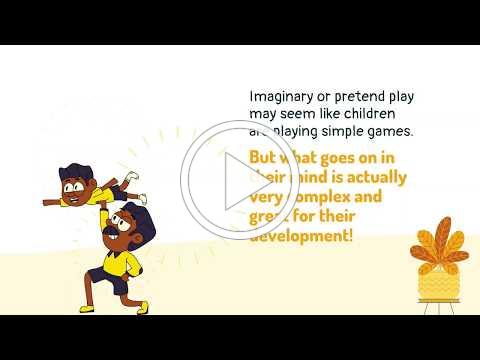 "ELCPBC Parents - Learning Through Play - ""I"" for Imaginary Play: Letter Activity (WEEK 13)"