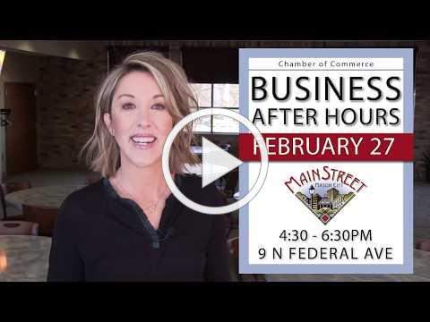 Business After Hours hosted by Main Street Mason City 2020