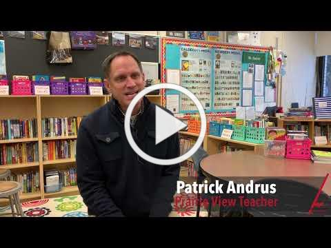Eden Prairie Schools: We Inspire Video Featuring Patrick Andrus