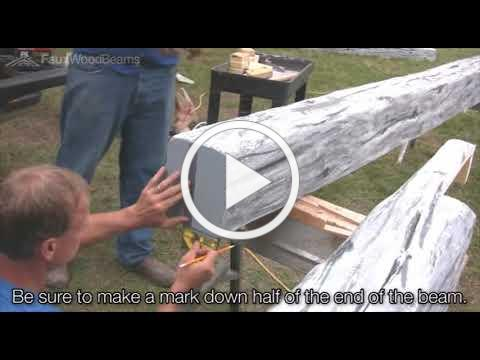 How to Build a Faux Wood Truss