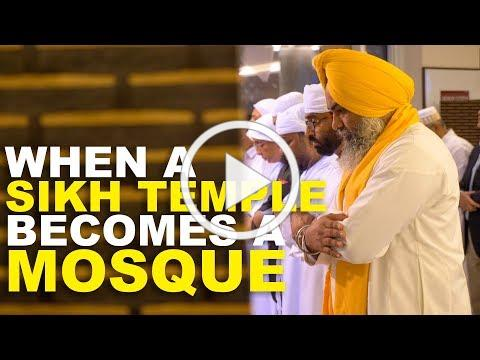 WHEN A SIKH TEMPLE BECOMES A MOSQUE