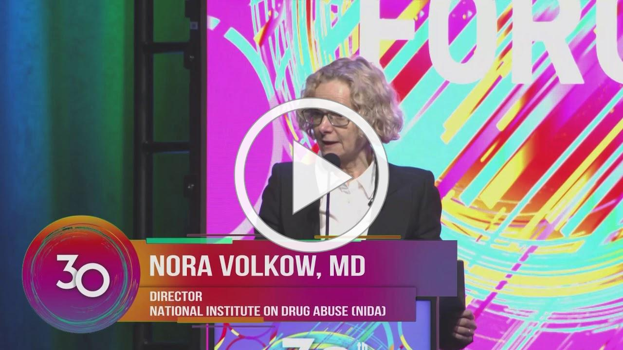 NIDA Director Nora Volkow, M.D. speaks to over 3,000 attendees at #CADCAForum