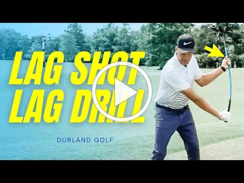 GOLF TRAINING AID   How To Use LAG SHOT With This Simple LAG DRILL For The MOST LAG EVER!