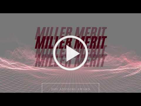 2021 Miller Merit!