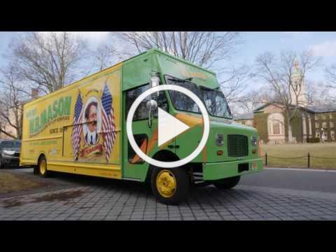 Princeton University W.B. Mason Electric Truck