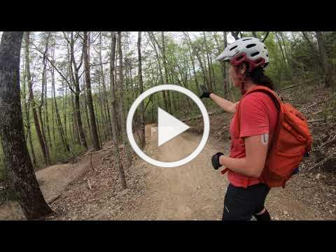 Tips for Riding Advanced Features on White Oak Mountain Downhill Trail