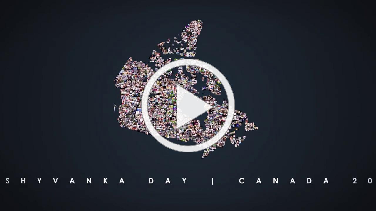Vyshyvanka Day 2020 - Vyshyvanka Map of Canada