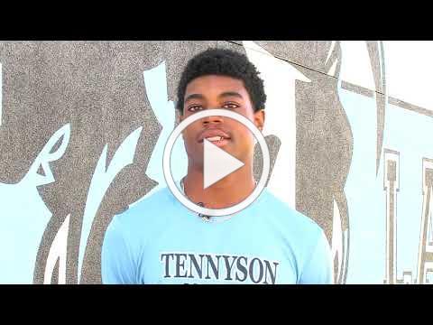 Inspirational Athlete with Ja'Kobe Harris from Tennyson FB 091618