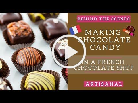 France chocolate shop visit: Behind the scenes of making French chocolates